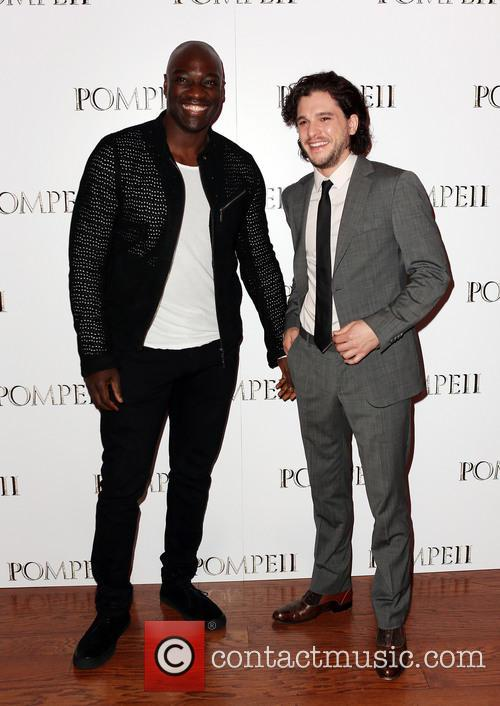 Adewale Akinnuoye-agbaje and Kit Harrington 5