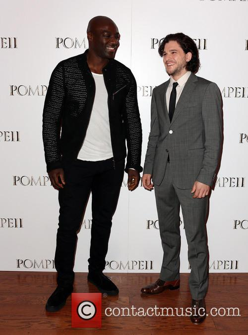 Adewale Akinnuoye-agbaje and Kit Harrington 6