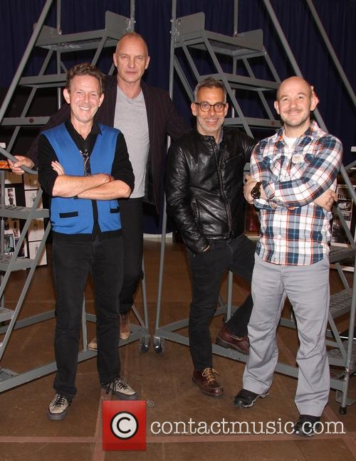 John Logan, Sting, Gordon Sumner, Joe Mantello and Steven Hoggett