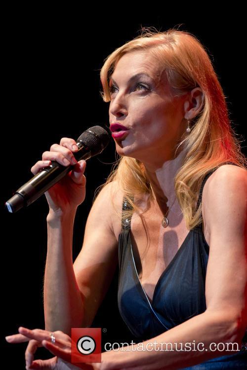 Ute Lemper performing live in concert