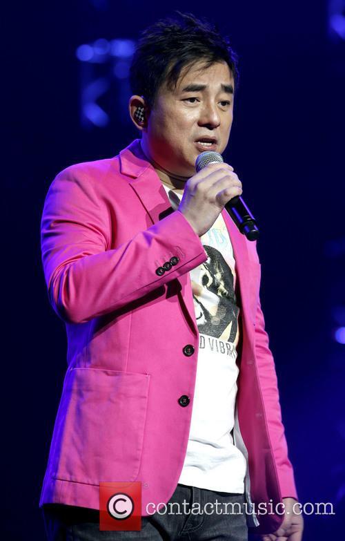 David Lui performs live