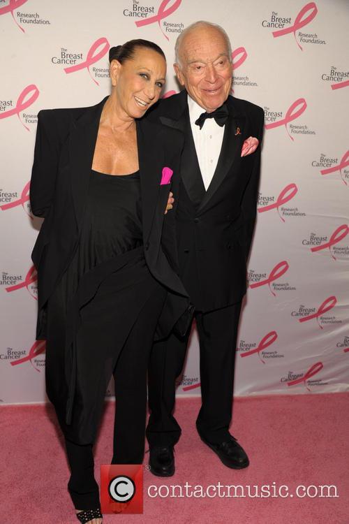 Donna Karan and Leonard Lauder 3
