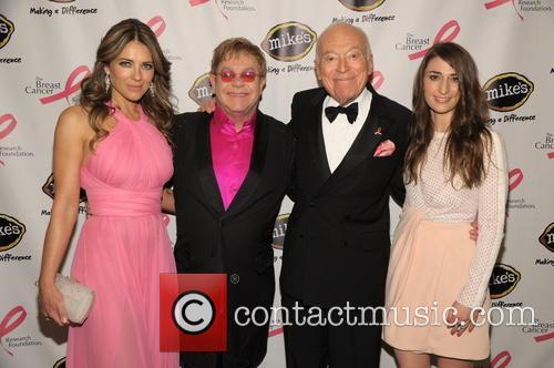 Elizabeth Hurley, Elton John, Leonard Lauder and Sara Bareilles 6