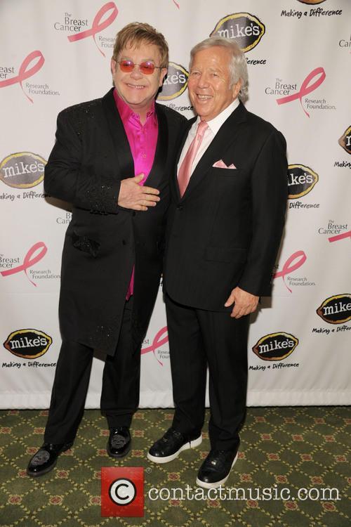 Elton John and Bob Kraft 10