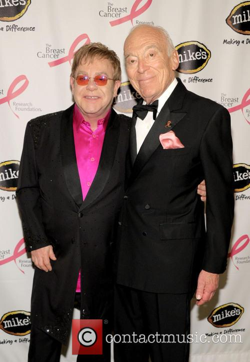 Elton John and Leonard Lauder 4
