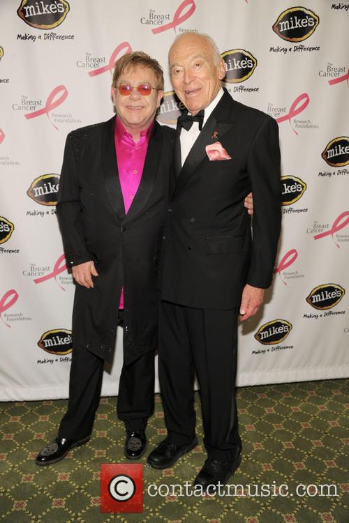 Elton John and Leonard Lauder 9