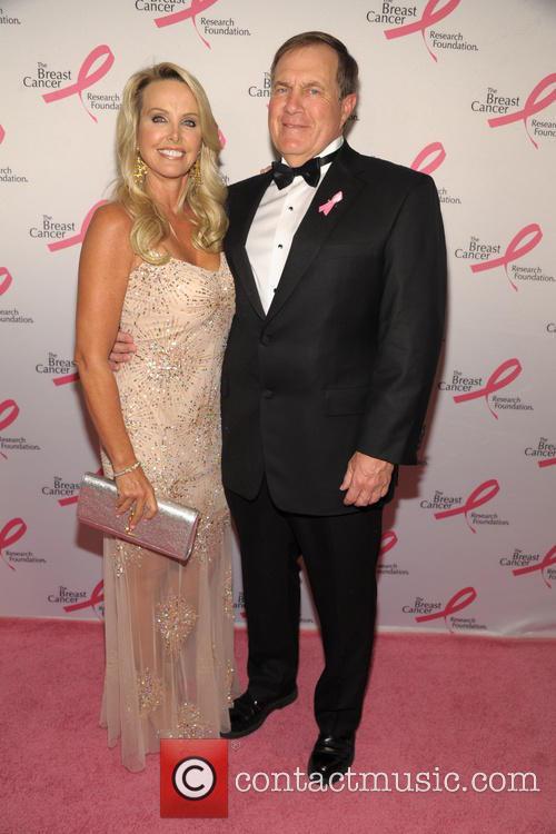 Linda Holliday and Bill Belichick 3