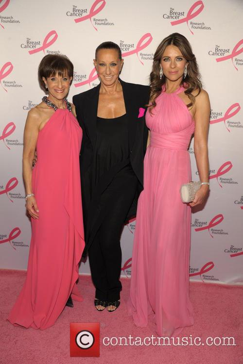 Myra Biblowit, Donna Karan and And Elizabeth Hurley 7