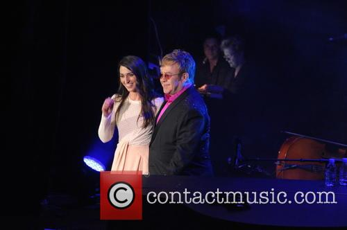 Sara Bareilles and Elton John 8