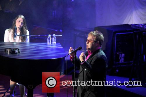 Sara Bareilles and Elton John 9