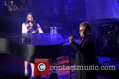 Sara Bareilles and Elton John 11