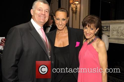William Lauder, Donna Karan and And Myra Biblowit 1