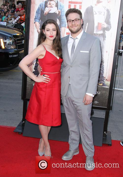 Seth Rogen and Lauren Miller 9