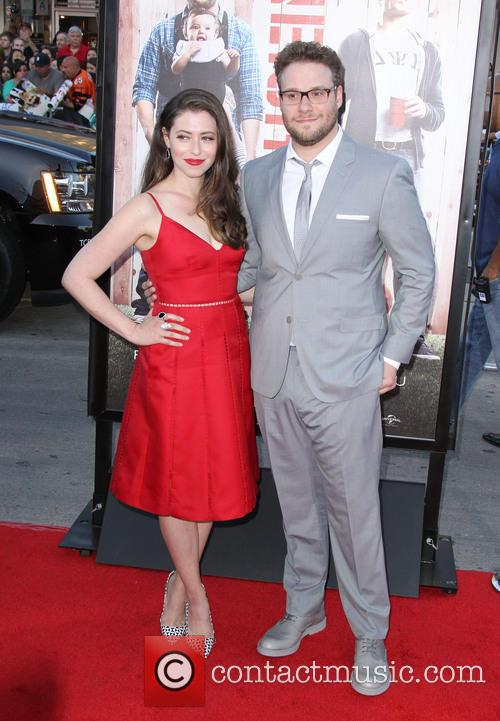 Seth Rogen and Lauren Miller 11