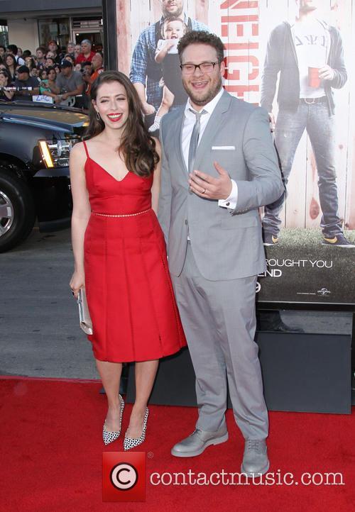 Seth Rogen and Lauren Miller 6