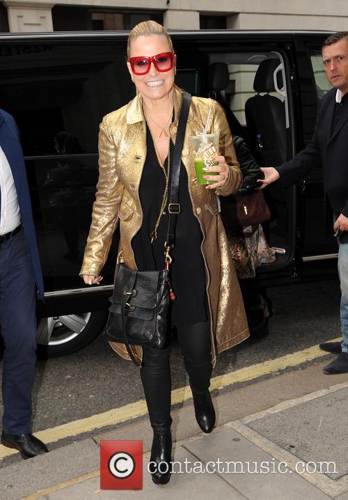 Anastacia pictured at BBC Radio 2