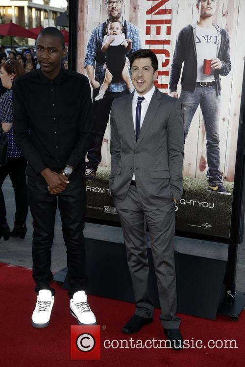 Jerrod Carmichael and Christopher Mintz-plasse 1