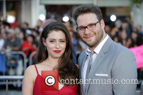 Lauren Miller and Seth Rogen 2