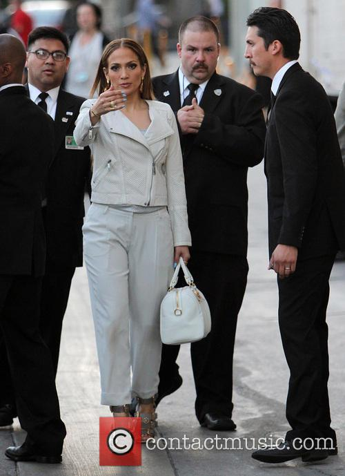 Jennifer Lopez At 'Jimmy Kimmel Live!'