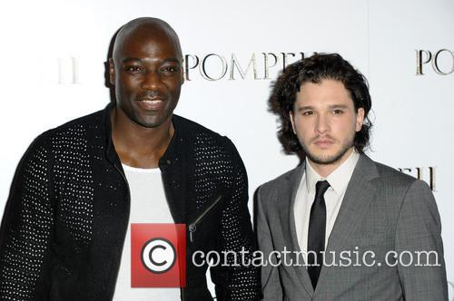 Adewale Akinnuoye-agbaje and Kit Harrington 11