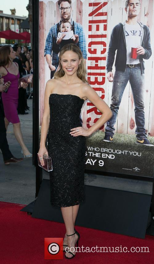 Halston Sage, Regency Village Theater in Westwood