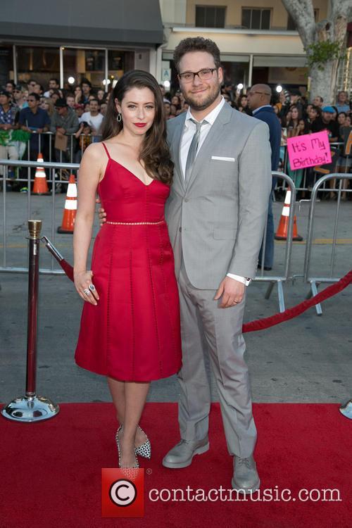 Lauren Miller and Seth Rogen 3
