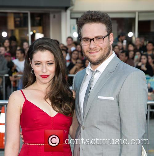 Lauren Miller and Seth Rogen 6