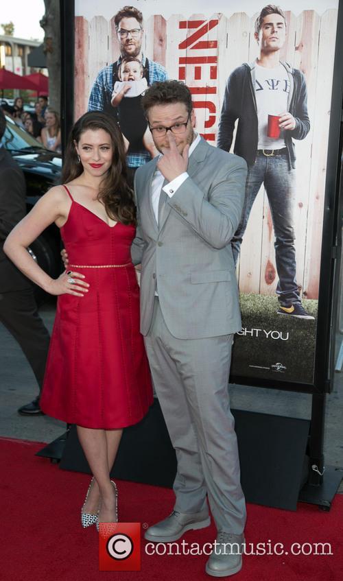 Lauren Miller and Seth Rogen 7