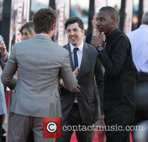 Zac Efron, Christopher Mintz-plasse and Jerrod Carmichael