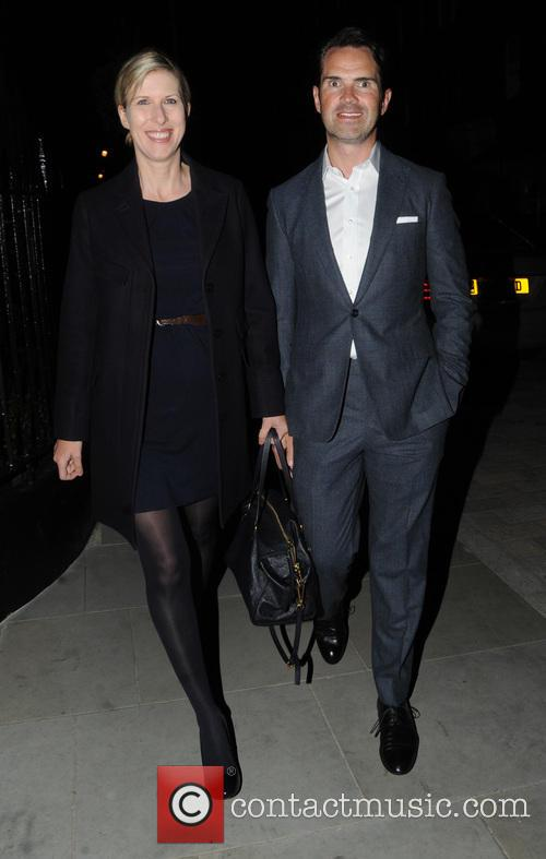 Jimmy Carr and Karoline Copping 1