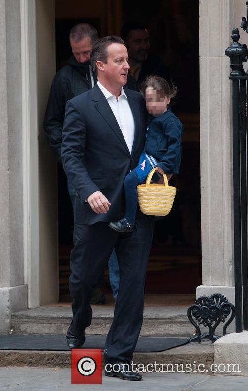 David Cameron leaves Downing Street