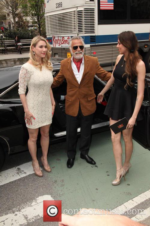 The Most Intresting Man, And His Two House Maids and Jonathan Goldsmith 2