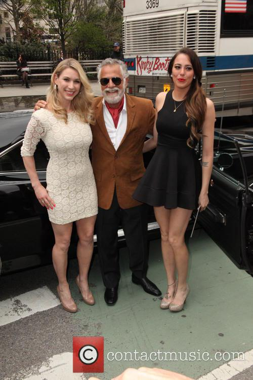 The Most Intresting Man, and His Two House Maids and Jonathan Goldsmith 6