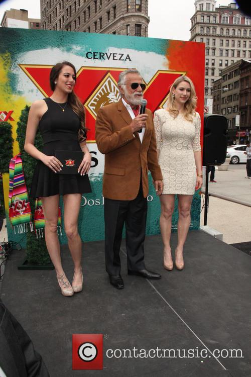 The Most Intresting Man, and His Two House Maids and Jonathan Goldsmith 7