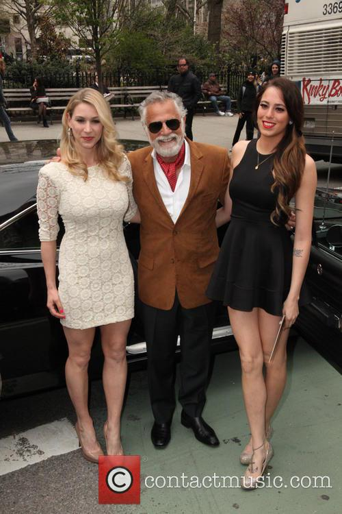 The Most Intresting Man, and His Two House Maids and Jonathan Goldsmith 8