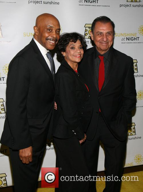 Emilio, Gordon Robinson, Sonia Manzano and Celebration 1