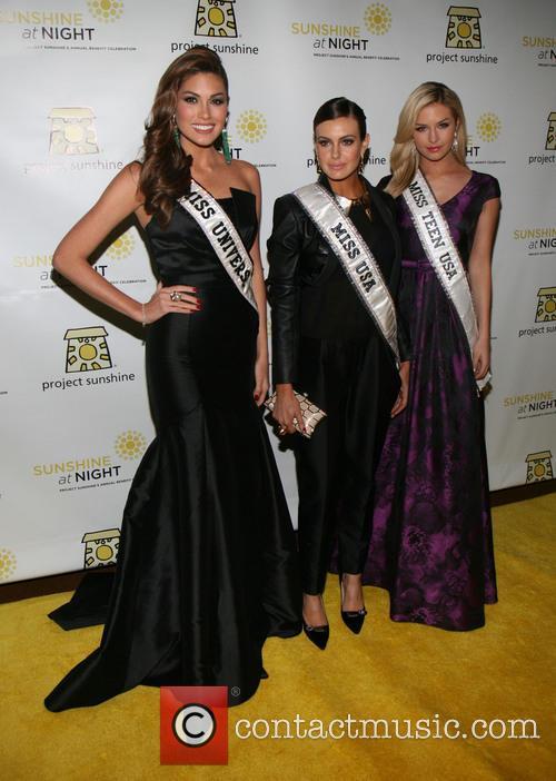 Celebration, Miss Universe Gabriela Isler, Miss USA Erin Brady and Miss Teen USA Cassidy Wolf 1