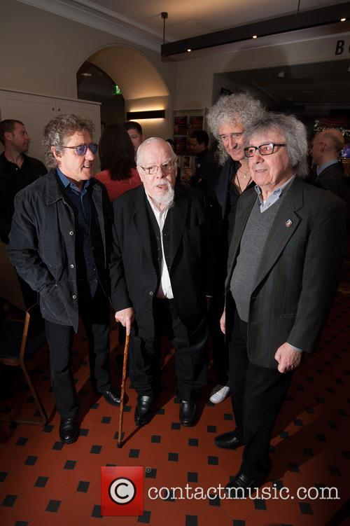 Bill Wyman, Brian May, Roger Daltrey and Sir Peter Blake 4
