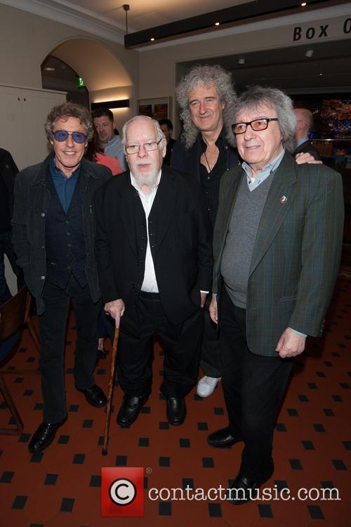 Bill Wyman, Brian May, Roger Daltrey and Sir Peter Blake 7
