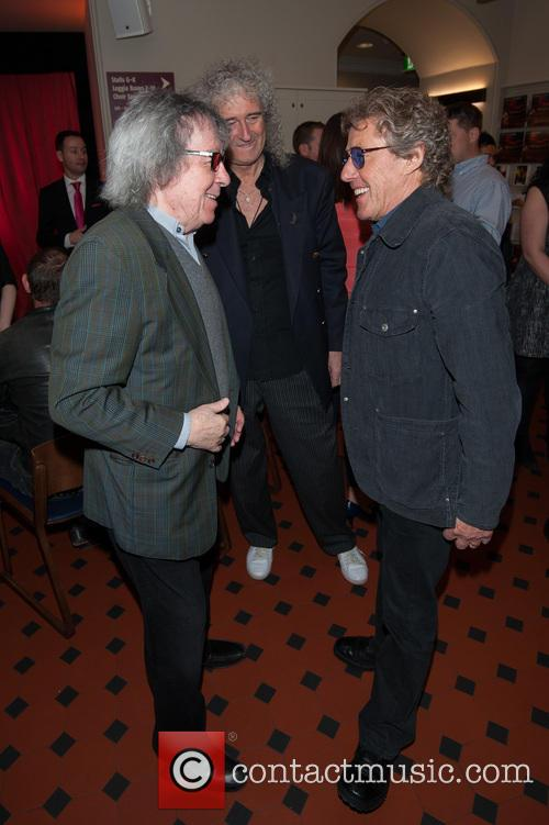 Bill Wyman, Brian May, Roger Daltrey, Royal Albert Hall