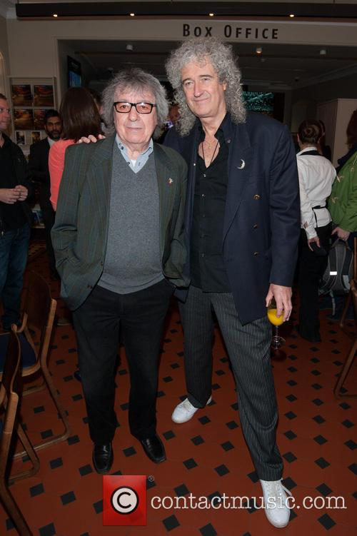 Bill Wyman and Brian May 3