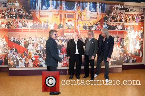 Roger Daltrey, Sir Peter Blake, Bill Wyman and Brian May 3