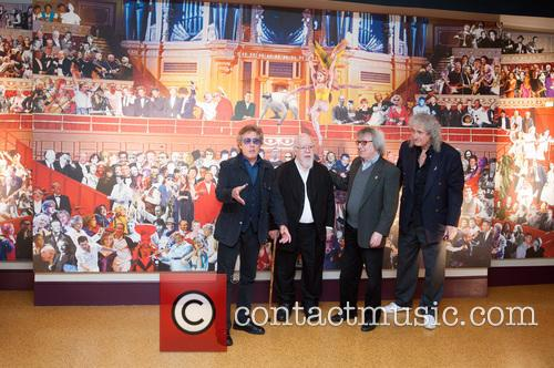 Roger Daltrey, Sir Peter Blake, Bill Wyman and Brian May 4