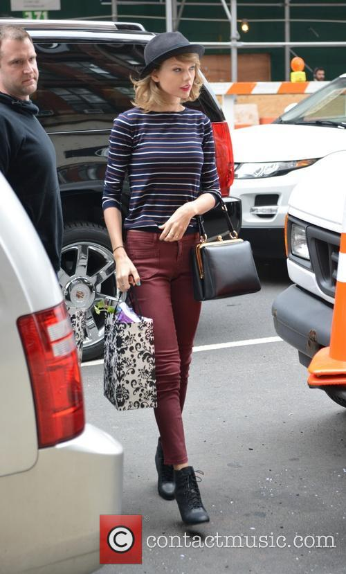 Taylor Swift running errands in New York City