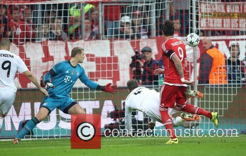 Munich, Sergio Ramos Goal 0:2 and Real Madrid 9