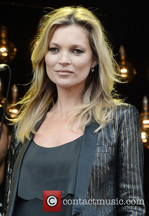 Kate Moss At Launch Of Her Topshop Collection