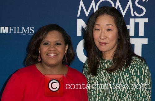 Chandra Wilson and Sandra Oh