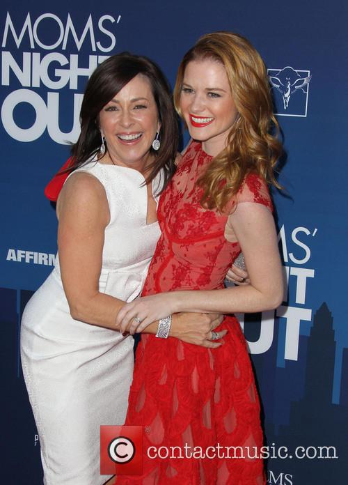 Patricia Heaton, Sarah Drew, TCL Chinese Theatre IMAX