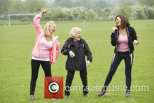 Jessica Wright, Carol Wright and Nanny Pat 3
