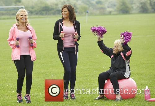 Jessica Wright, Carol Wright and Nanny Pat 4